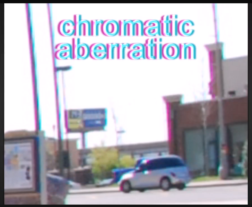 chromatic abberation